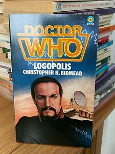 doctor who target book -  LOGOPOLIS - 1st edition