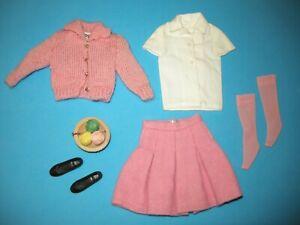 Vintage SKIPPER Doll 1964 SCHOOL DAYS complete fashion # 1907 Barbie sister