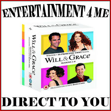 WILL AND GRACE COMPLETE SERIES - SEASONS 1 2 3 4 5 6 7 & 8 **BRAND NEW BOXSET*