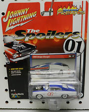 SPOILERS 01 42 DODGE BOYS CHARGER 1966 DRAG RACE MOPAR WHITE JL JOHNNY LIGHTNING