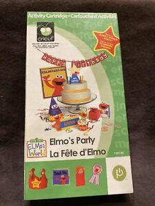 Cricut Cartridge Elmo's Birthday Party