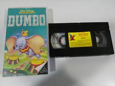 DUMBO VHS CINTA TAPE LOS CLASICOS DE WALT DISNEY ESPAÑA CASTELLANO