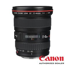 Canon EF 17-40mm f/4L USM Lens ***USA AUTHORIZED***