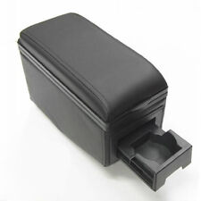 Unicersal Car Armrest Arm Rest Centre Console Front And Back Double Cup Holders