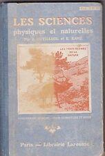 Les sciences physiques et naturelles par J. Dutilleul et E. Ramé