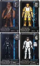 Dhl Hasbro Star Wars Black 6 Inches The Black Series Wave 7 Set of 4 Figures Uk