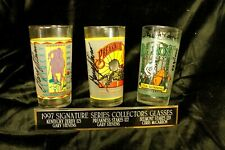 1997 Signature Series Collectors Glasses Kentucky Derby  Preakness Belmont MINT