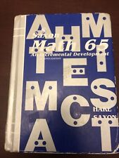 Saxon Math 65 Second Edition Student Textbook