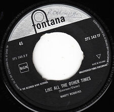 """7"""" 45 TOURS HOLLANDE MARTY ROBBINS """"Don't Worry / Like All The Other Times"""" 1961"""