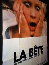LA BETE ! walerian borowczyk  affiche cinema 1975 modele b