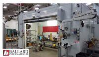 Robotic Mig Welding Cell - 2 Station Yaskawa MA1400 Robots & Dual Postioners