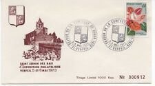 FRANCE 1973.F.D.C.4e EXPOSITION PHILATELIQUE.OBLIT:LE 5-6/5/73 VERFEIL n°000912