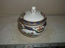 "Tuscan Bone china lidded sugar bowl - ""Harrow"" Made in England"