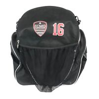 Champro Soccer Bag FCMO Futbol Club Of Missouri Black Cleat Sack Backpack Sports