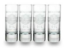 Harley-Davidson Genuine Oil Glass Shot Glasses, Set of 4, 2.5 oz. SG21271