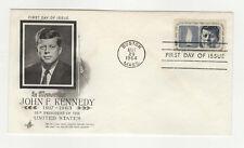 John F. Kennedy FDC U.S.A. états-Unis  enveloppe timbre 1er jour 1964 / B5fdc