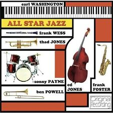 EARL WASHINGTON - ALL STAR JAZZ - ORIGINAL ALBUM CD - FREE POST IN UK