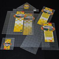 OLFA Non-Slip Frosted Advantage Inch Grid Acrylic Ruler