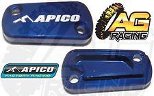 Apico Blue Rear Brake Master Cylinder Cover For Suzuki RMZ 450 05-13 Motocross