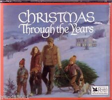 Readers Digest Christmas Through the Years 3CD BOX Classic Ultra Rare Greatest