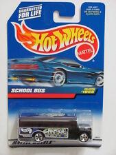 HOT WHEELS 1999  SCHOOL BUS  #1055 BLACK