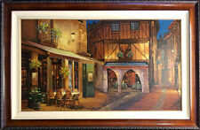 "Viktor Shvaiko ""Twilight at Troy"" Hand Signed with custom frame Make an Offer!"