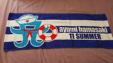 Hamasaki Ayumi A Nation 2011 Big Sports Towel Rare