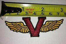 "Victory Wings 3"" Motorcycle Patch Brand New"