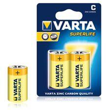 8x VARTA Superlife Baby C Batterien Mn1400 R14 Lr14 1 5v Zink-kohle Typ 2014