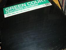 Green Court feat De/Vision Take (My Breath Away) NEW VINYL CJ Stone Marc Dawn