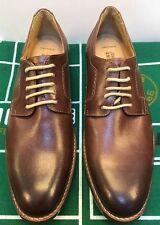 Johnston & Murphy Garner Oxfords Mahogany Brown Leather Shoes Men 8 M US 20-1823