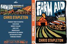Chris Stapleton 2018 Live Farm Aid 33 DVD