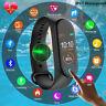 M4 Smart Band Watch Bracelet Blood Pressure Heart Rate Wristband Fitness Tracker
