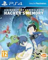 Digimon Story Cyber Sleuth Hacker's Memory PS4 * NEW SEALED PAL *
