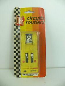 5388) JOUEF SLOTCAR Alpine Turbo ELECTRIQUE 3468 cirquits Routiers VINTAGE