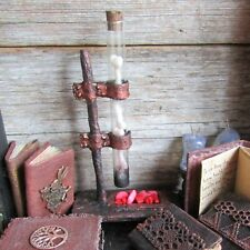 Dollhouse laboratory Witch lab miniature magician Halloween accessorie wizard