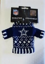 Dallas Cowboys Knit Sweater Christmas Tree Holiday Ornament New