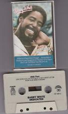 Barry White  Dedicated [Musikkassette]