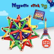 103Pcs Magnetic Sticks Building Blocks Kids Construction Educational Toy Puzzle
