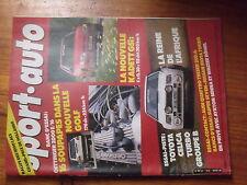 $$v Revue sport auto N°272 Opel Kadett GSi  Toyota Celica Turbo GrB  Senna