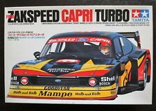 So Cool !! TAMIYA 1/24 FORD ZAKSPEED Capri Turbo Valuable & So Rad !