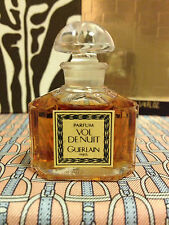 Vintage 1980s Vol de Nuit Guerlain 1/4 oz 7.5 ml Pure Parfum Boxed - OLD FORMULA
