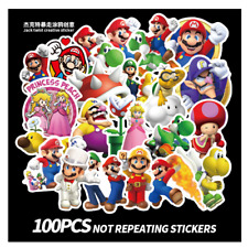 New ListingSuper Mario Kids Nintendo Wall Decal Stickers Art Decor 100 pieces Xtra Large