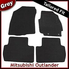 Mitsubishi Outlander Tailored Fitted Carpet Car Mats GREY (2007 2008 2009 ...)