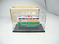 Matchbox Albuquerque MCCH London Doppeldecker-Bus grün 2013 - sehr gesucht!