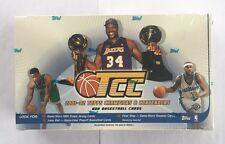2001-02 Topps Champions And Contenders Basketball Hobby Box Factory Sealed