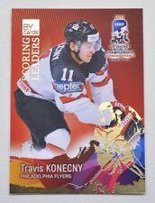 2017 BY cards IIHF WC Scoring Leaders #20 Travis Konecny #/20