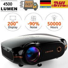HD Mini Projektor LED Beamer Video Heimkino Beamer HDMI VGA USB TV Box