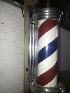Vintage William Marvy Model 55 Barber Pole