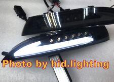 US Volkswagen Scirocco DRL LED White side marker Turn signal parking light Smoke